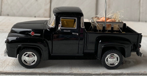 Diecast Vintage Pickup Truck, Little Red Truck Decor,Farm Truck, Egg Truck