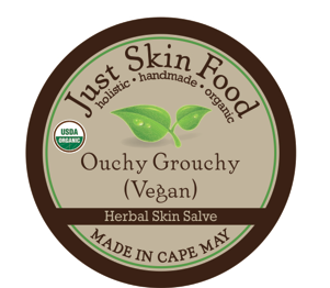 Ouchy Grouchy Salve (vegan) - Certified Organic