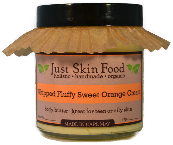Whipped Fluffy Sweet Orange Cream