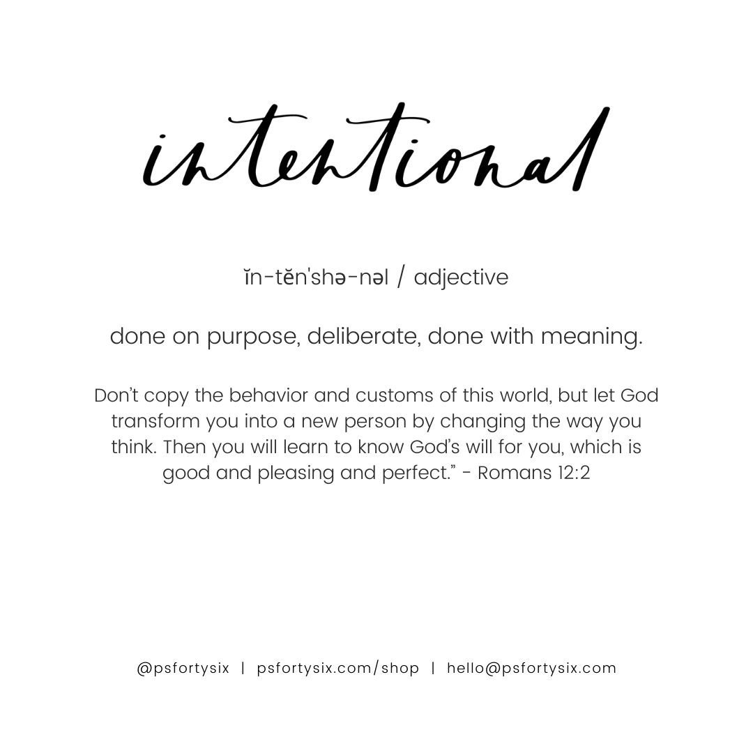 The Intentional Bracelet | NB x PS46