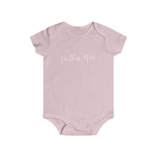 Within Her | Onesie, White Font