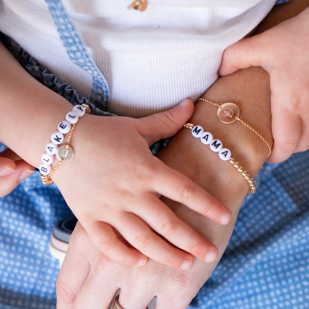 Mama + Mini Beaded Bracelet Set
