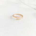 Personalized Wrap Ring
