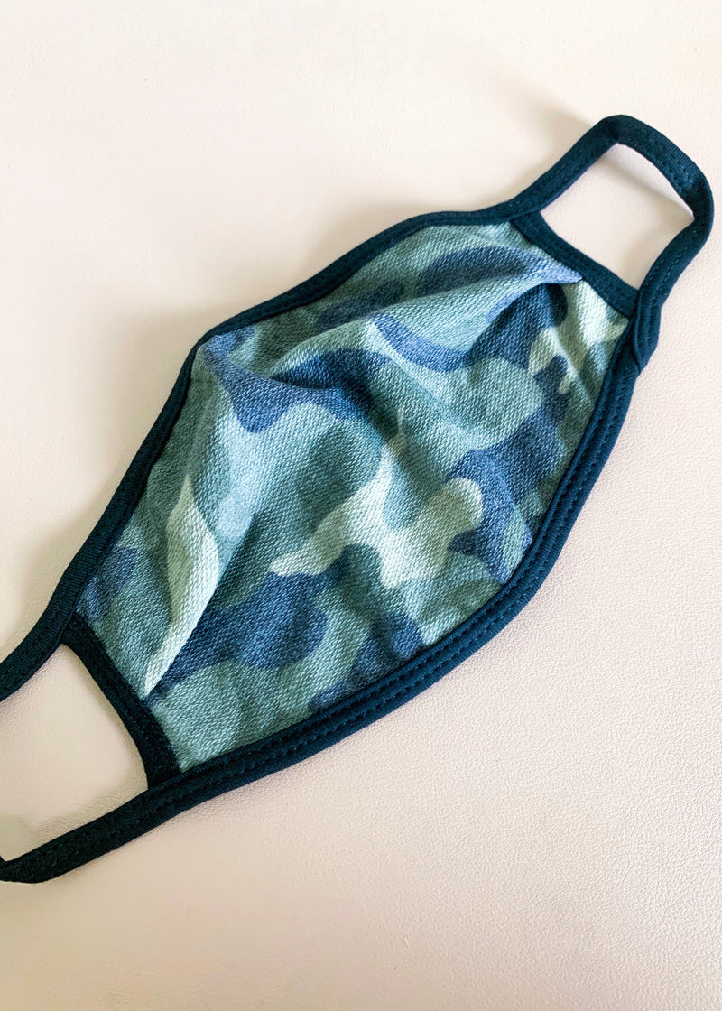 Camo Reversible Face Mask