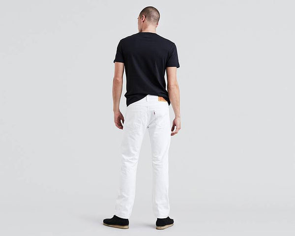 Levi's Men's 501 Original Fit Jeans, Optic White