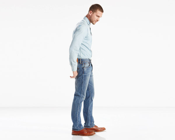 Levi's Men's 501 Original Fit Stretch Jeans (Big & Tall), The Ben