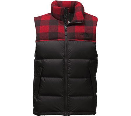 The North Face Men's Nuptse Vest Cardinal Red/TNF Black C760MHB