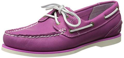Timberland Women's Earthkeepers Classic Amherst Boat Shoe Mauve 8336B