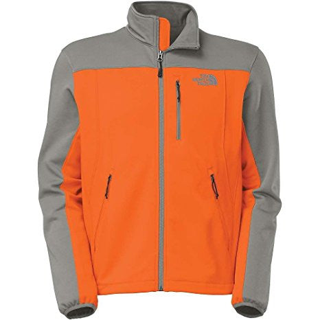 The North Face Men's Momentum Jacket Orange Grey XL C766W9F