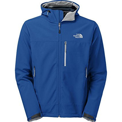 The North Face Men's Hooded Apex Bionic Jacket Monster Blue C675DJ7