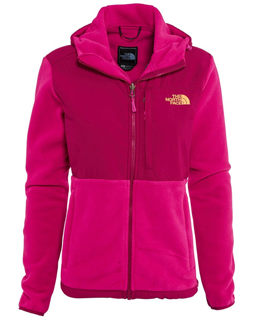 The North Face Womens Denali Hoodie Pink/Dramatic Plum ANLNCTP