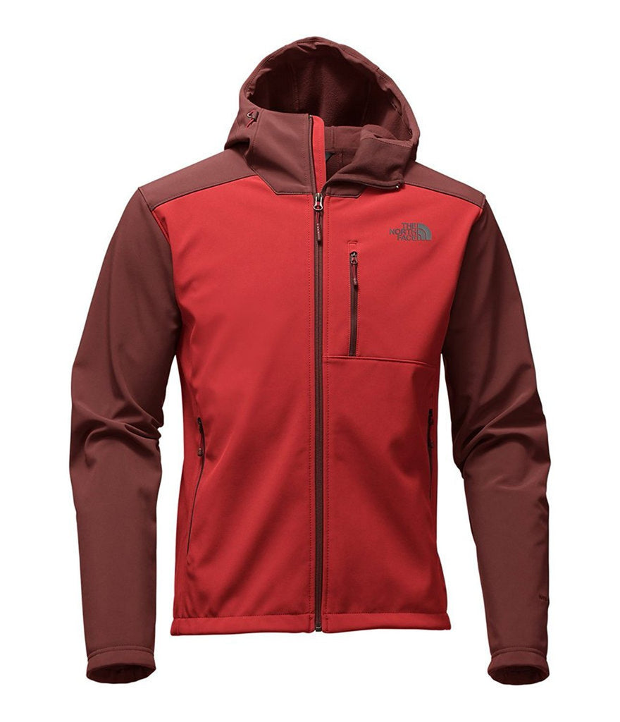 The North Face Men's Apex Bionic 2 Hooded Soft Shell Jacket Cardinal Red-Sequoia Red A2TBBMHA