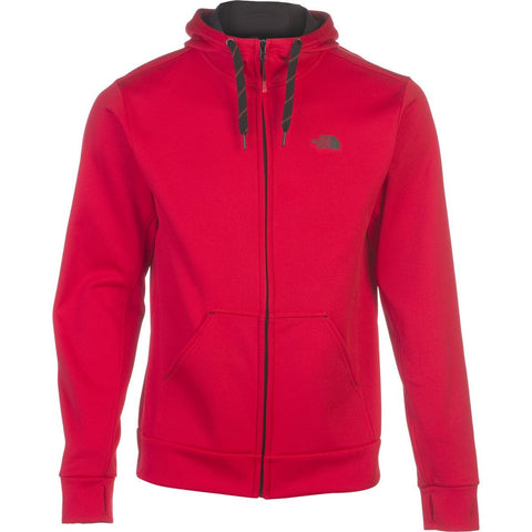 The North Face Men's Surgent Full Zip Hoodie TNF Red/TNF Black XL CN94KZ3
