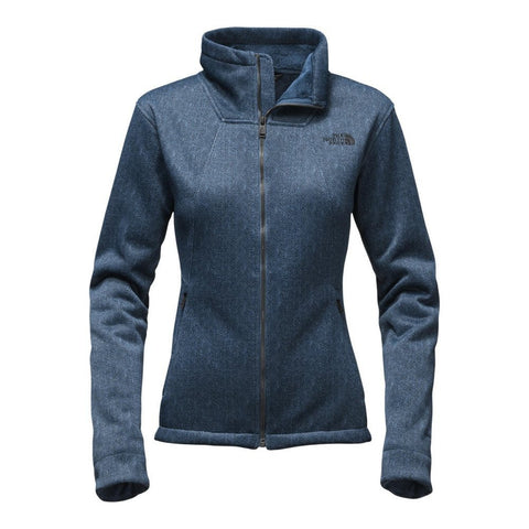 The North Face Women's Apex Chromium Thermal Soft Shell Jacket Shady Blue/Dark Shady Blue A2TDWNUQ