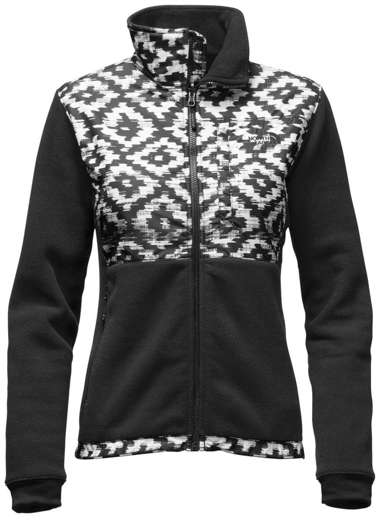 The North Face Women's Denali 2 Jacket Black D-Kat Print/TNF Black A2RDHMPL