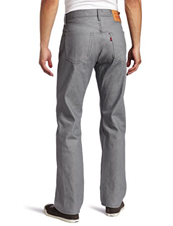 Levi's Men's 501 Original Shrink-To-Fit Jeans, Silver Rigid