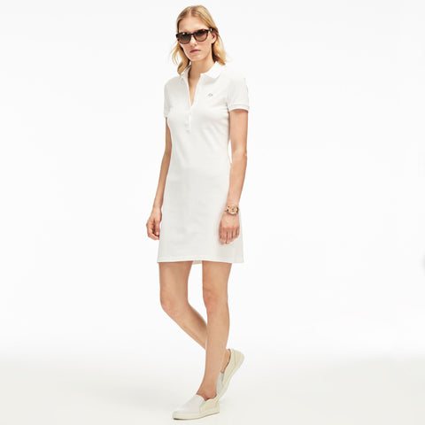 Lacoste Women's Stretch Pique Polo Dress EF8078