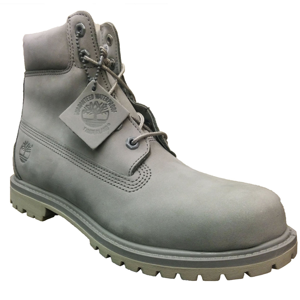 genuine super cheap detailed look Timberland Women's AF 6-Inch Premium Light Grey Boots A1BIX 806