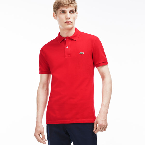 Lacoste Men's Slim Fit Petit Pique Polo Shirt PH4012