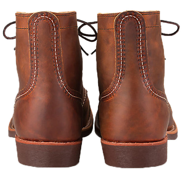 Red Wing Iron Ranger Copper Rough & Tough Leather Boots 8085
