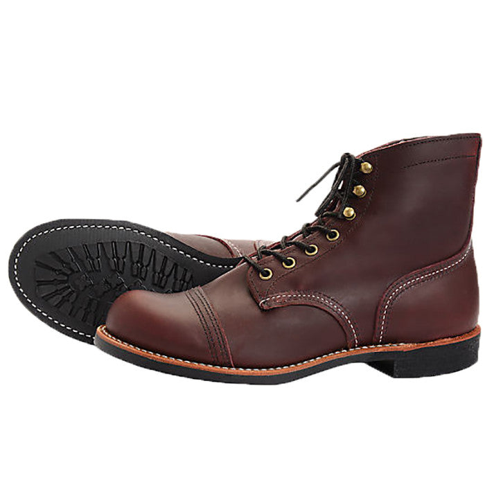 Red Wing Iron Ranger Oxblood Mesa Leather 8119