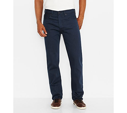 Levi's Men's 501 Original Shrink-To-Fit Jeans, Cobalt Blue