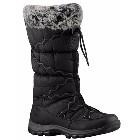 Timberland Women's Chillberg Over the Chill Black Snow Boot 2160R