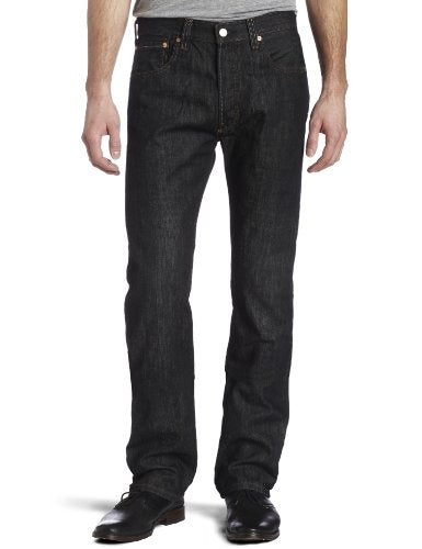 Levi's Men's 501 Original Fit Jeans, Iconic Black