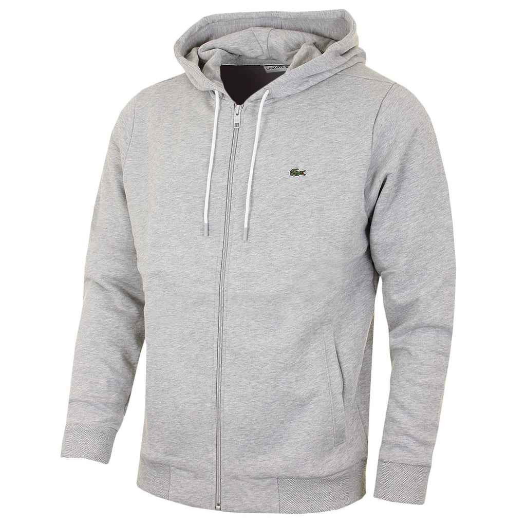 lacoste men sport fleece hooded sweatshirt jean and top designers