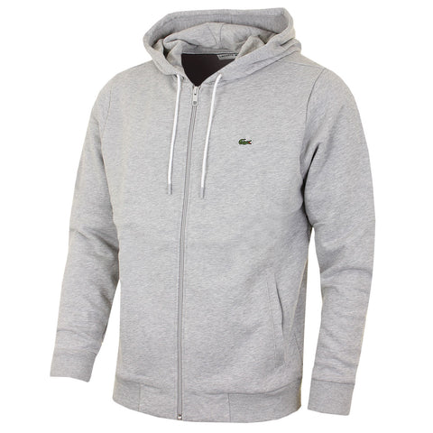 LACOSTE MEN SPORT FLEECE HOODED SWEATSHIRT