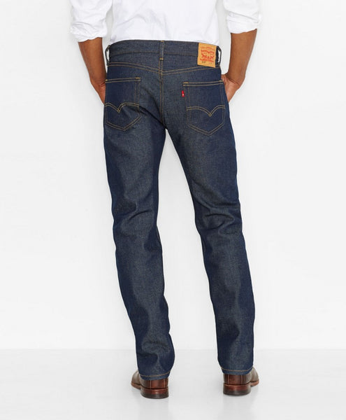 Levi's Men's 505 Regular Fit Jeans, Rigid