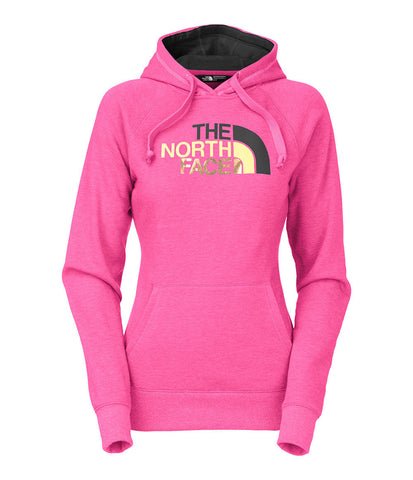 The North Face Women's Half Dome Hoodie Raspberry Heather/Asphalt CH2XGCQ