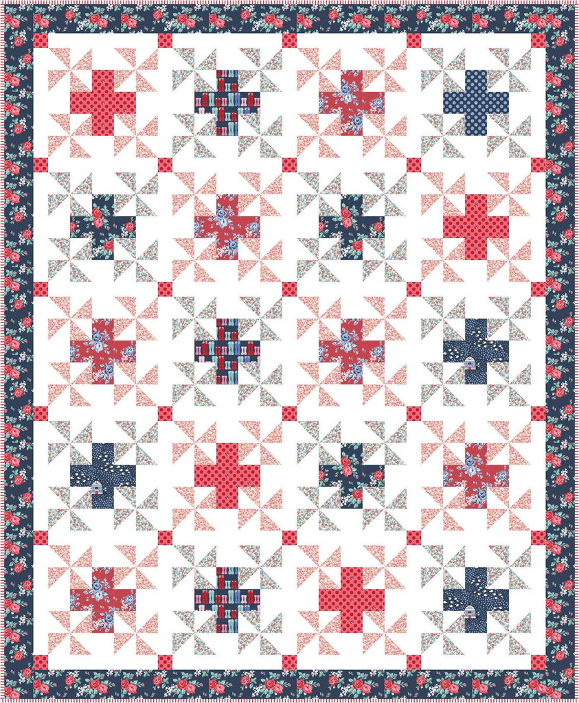 Patchwork Safari Quilt Pattern (in 3 sizes) | Digital PDF Pattern