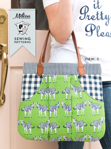 March Bag Sewing Pattern - PDF