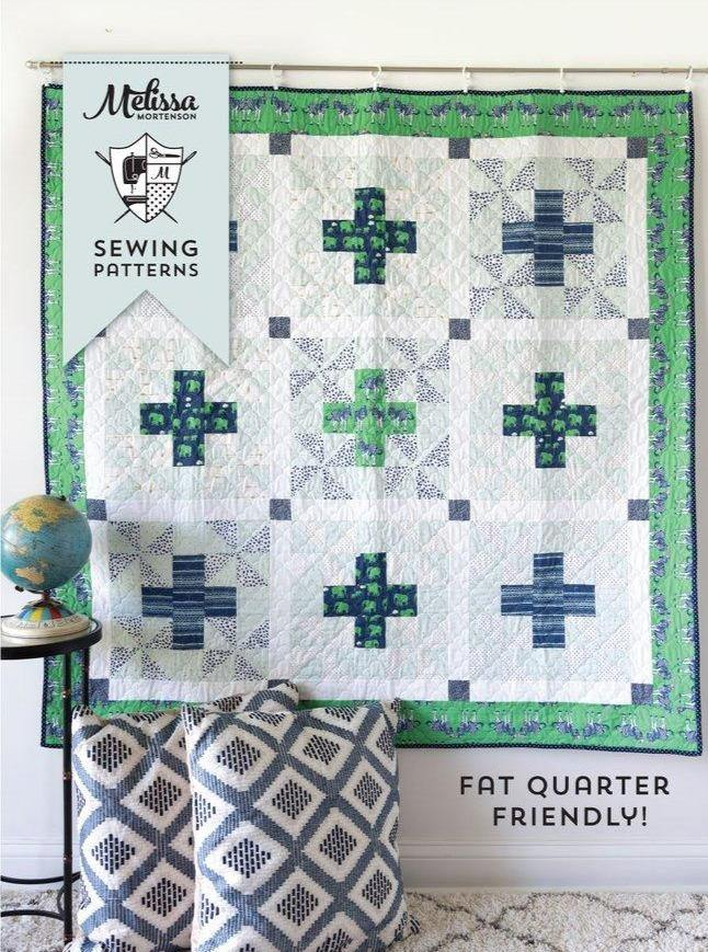 Patchwork Safari Quilt Pattern | Digital PDF Pattern