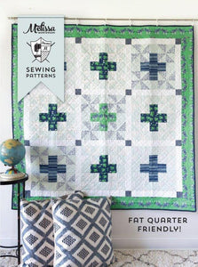 Patchwork Safari Quilt Pattern - PDF