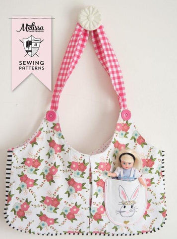Ruby Lou Tote Bag Sewing Pattern PDF