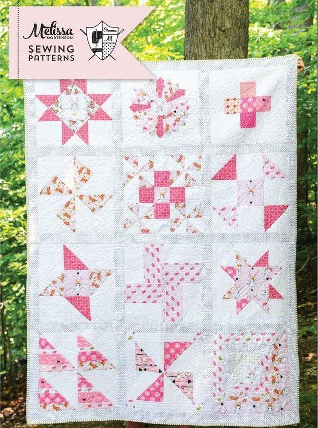 Polka Dot Chair Block of Month Quilt | Digital PDF Pattern