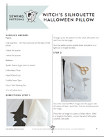 Halloween Pillow, Bag & Table Topper Bundle | Digital PDF Pattern