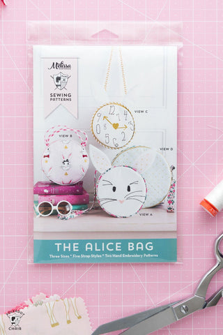 Alice Bag Printed Pattern
