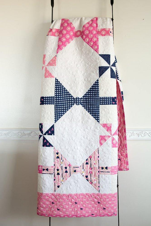 Dads Bow Ties Quilt | PRINTED PATTERN