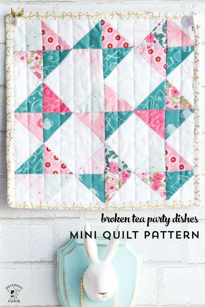 Wonderland Mini Quilts & Doll Quilt Bundle | Digital PDF Pattern
