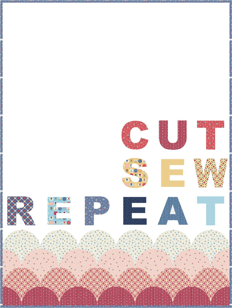Letter Board Quilt Pattern | Digital PDF Pattern