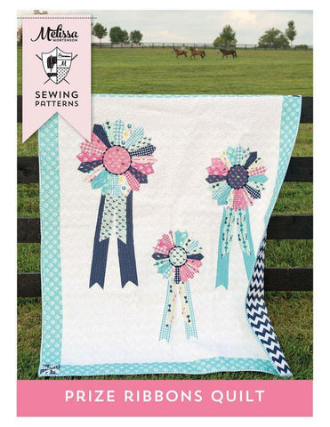 Prize Ribbons Quilt Pattern - PDF