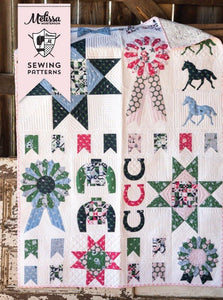 Derby Sampler Quilt Pattern PDF