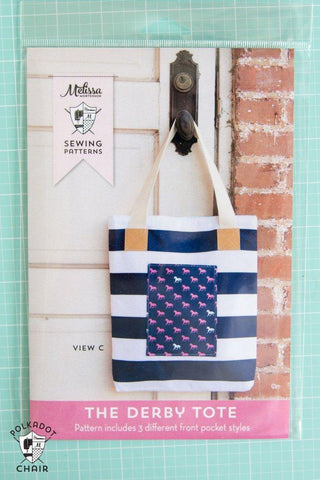 The Derby Tote Bag - PRINTED PATTERN