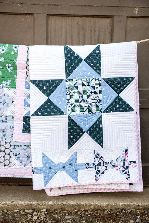 Derby Sampler Quilt Pattern | Digital PDF Pattern