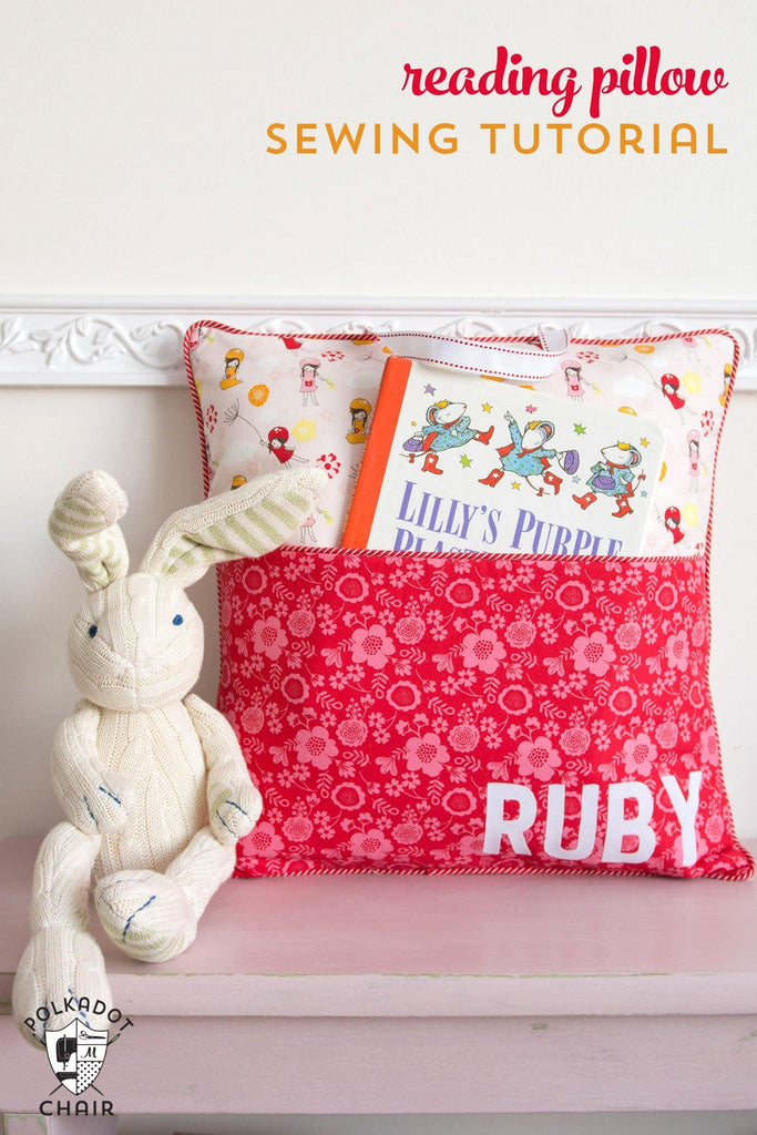Pillow PDF Tutorial Bundle, Includes 5 Patterns including Reading/Pocket Pillow Pattern