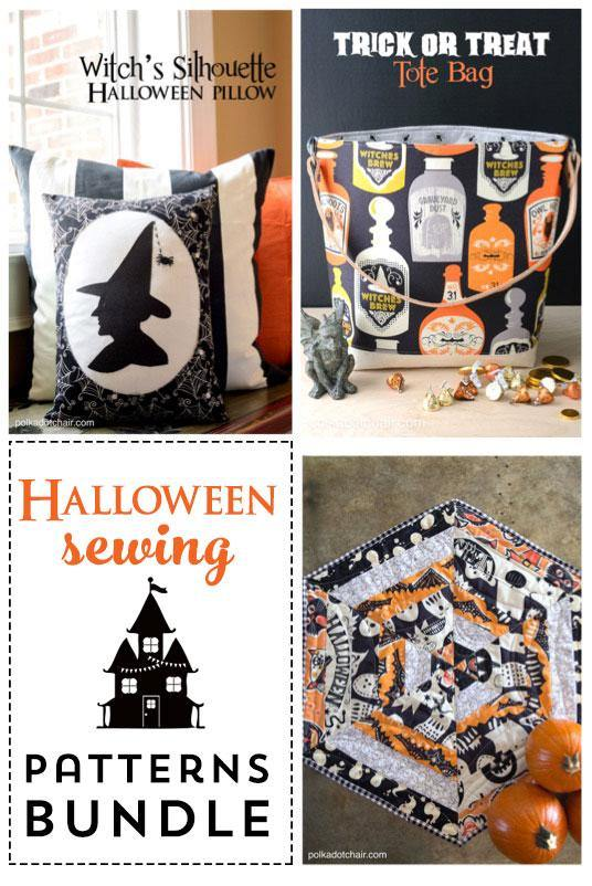 Halloween Sewing Tutorial Bundle | Digital PDF Pattern