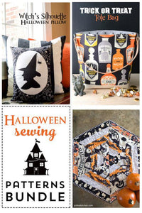 Halloween Sewing Tutorial Bundle PDF Pattern